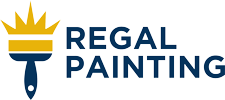Regal Painting Logo - Brush And Regal Painting