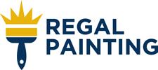 Regal Painting Logo - Brush And Regal Painting